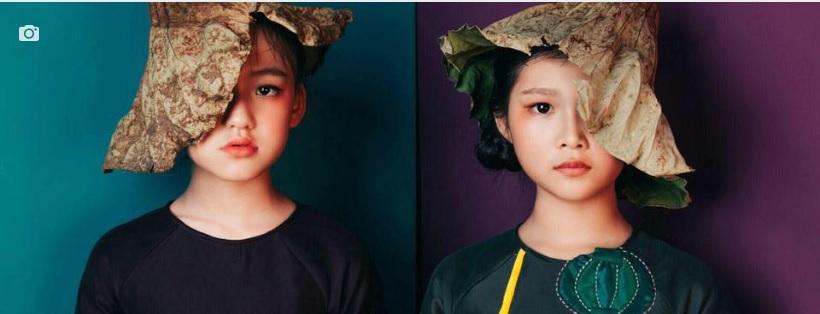 Áo dài trẻ em - Phương Nguyễn Silk