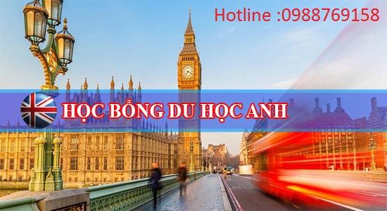 Hoc bong Du hoc Anh